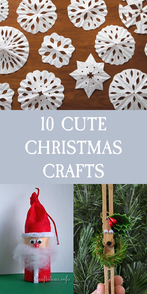 10 Cute and Simple Christmas Crafts