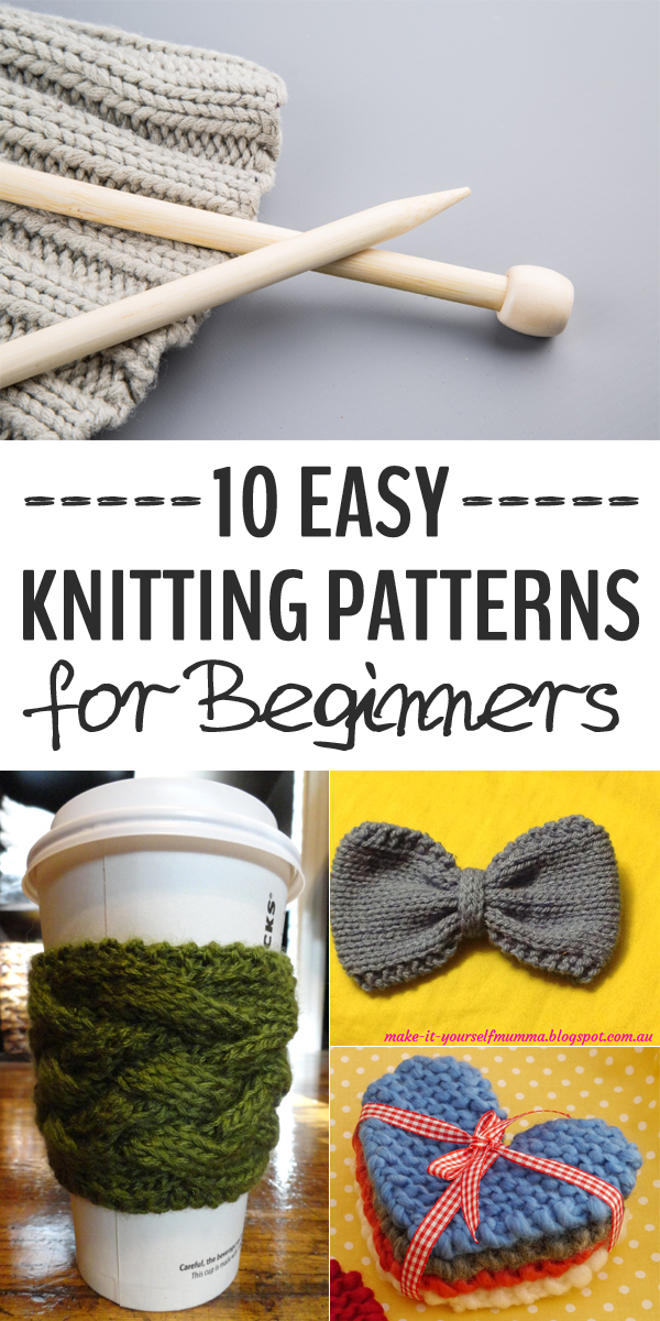 10 Easy Knitting Patterns for Beginners