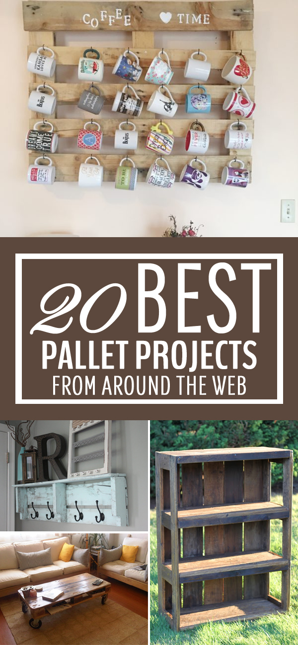 20 BEST Pallet Projects From Around the Web