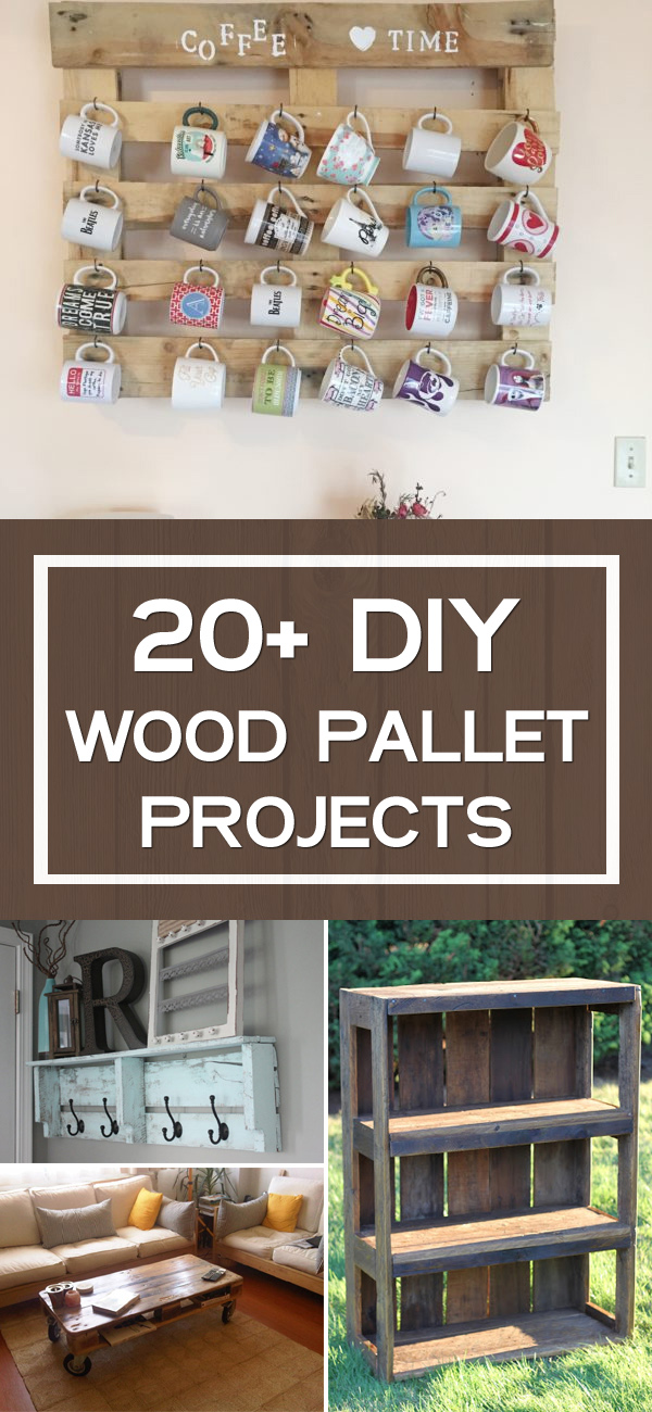 20+ DIY Wood Pallet Projects