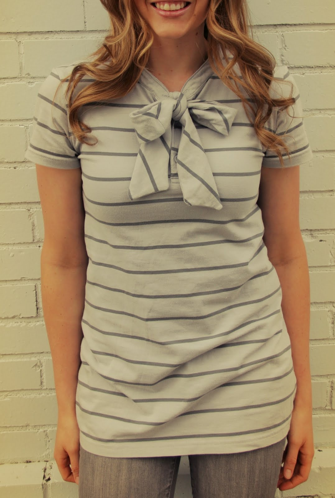 Men's Polo To Woman's Bow Shirt