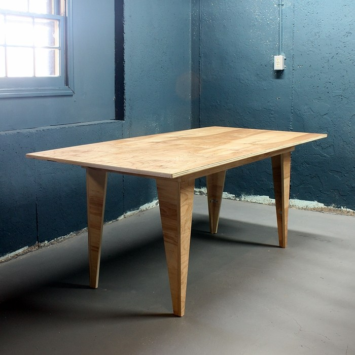 Modern Birch Table