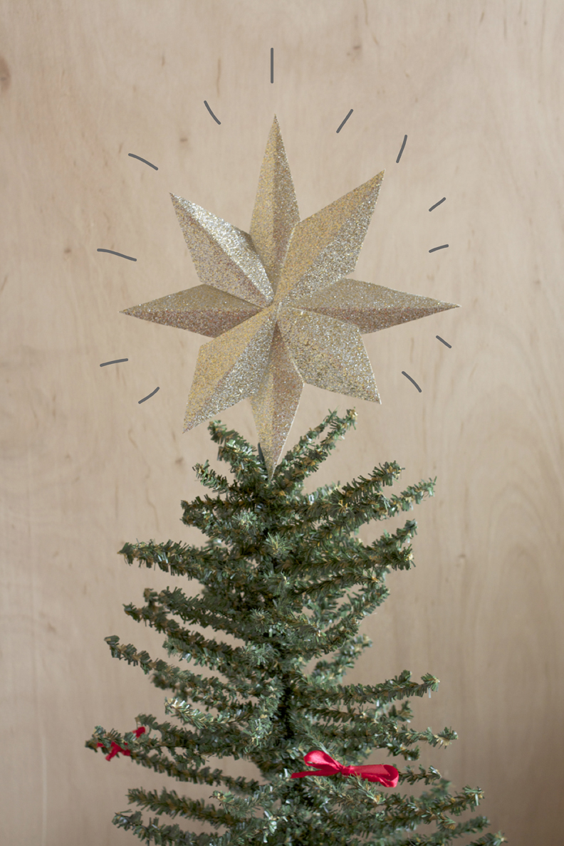 Paper Tree Topper