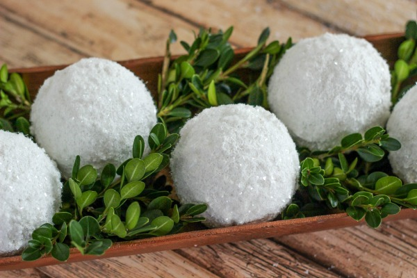 Sparkle Snow Texture Balls