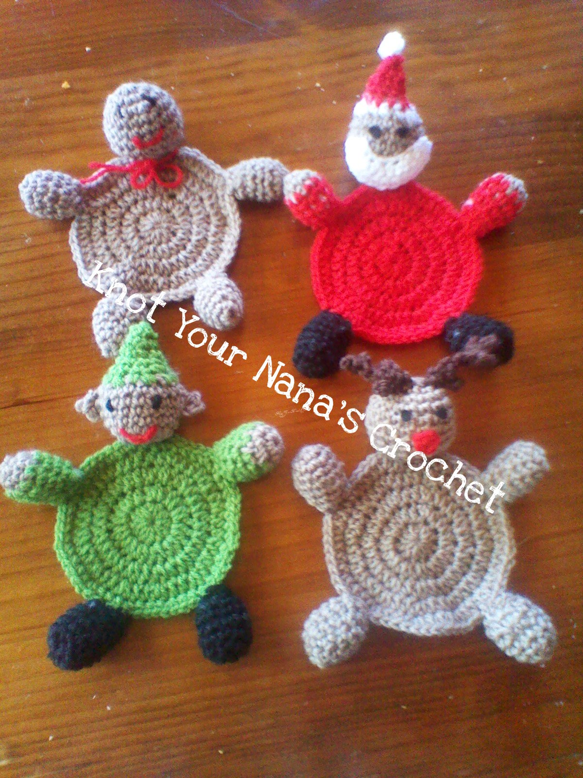 12 Free Christmas Crochet Patterns