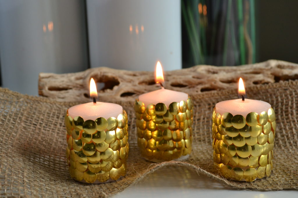 Decorative Thumbtack Votives