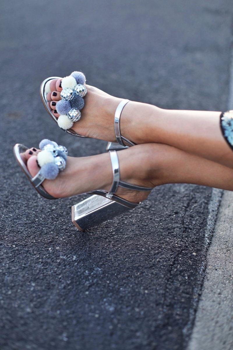 Disco Pom Pom Shoes