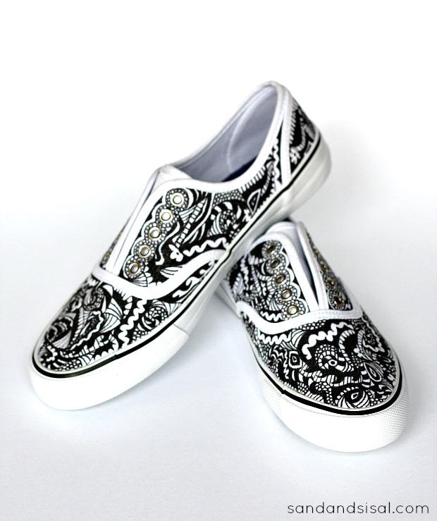 Doodle Style Shoes
