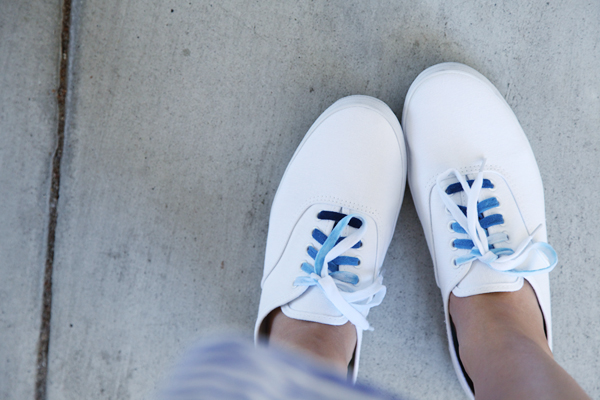 Dyed Ombre Shoelaces