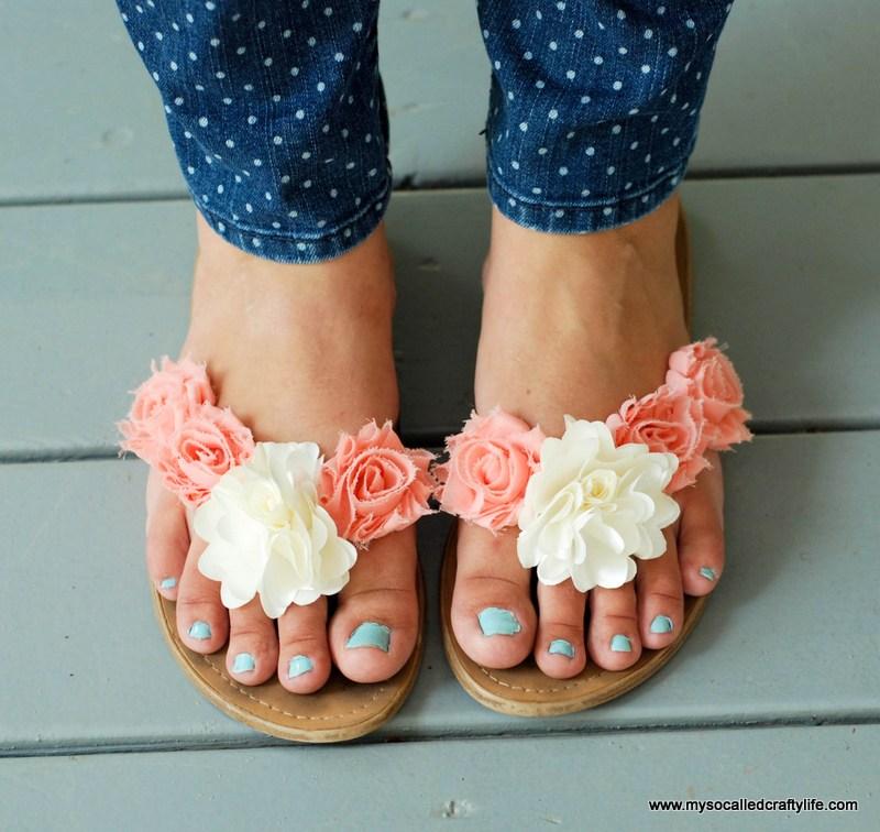 Floral Summer Sandals