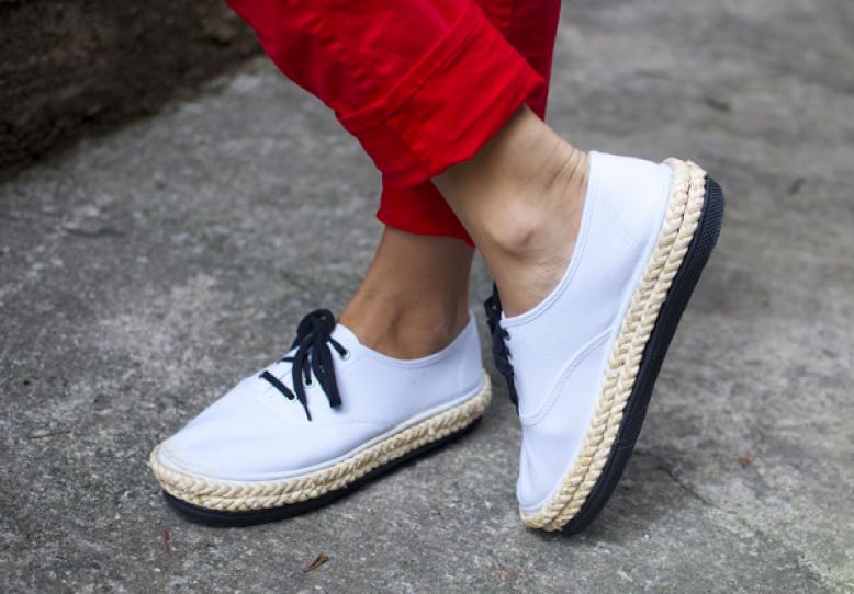 Prada Inspired Platform Sneakers