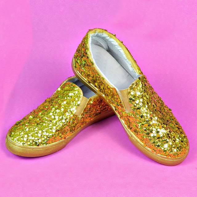 Sparkly Sequin Shoes