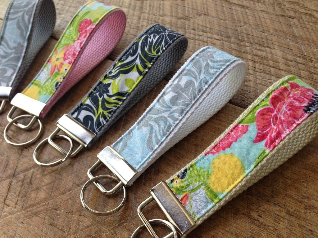 fabric keychains
