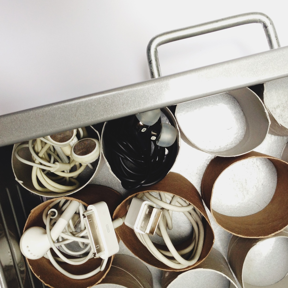 toilet paper roll drawer organizer