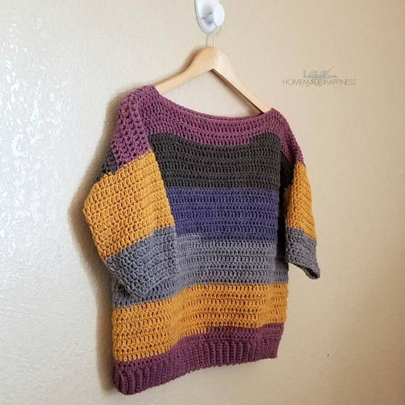 20 Free Crochet Sweater Patterns For Women