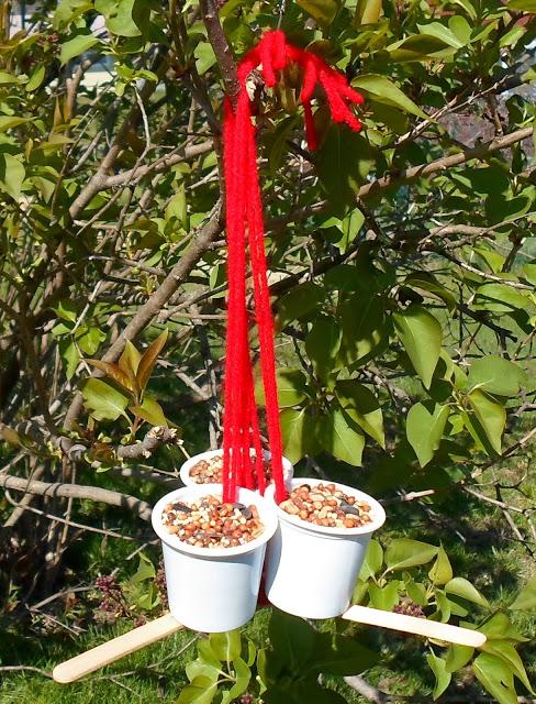 K-Cup Bird Feeder