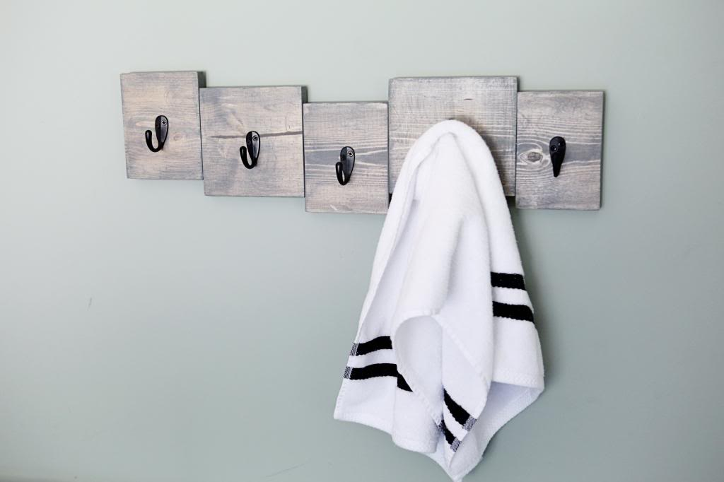 Scrap Wood Towel Hook