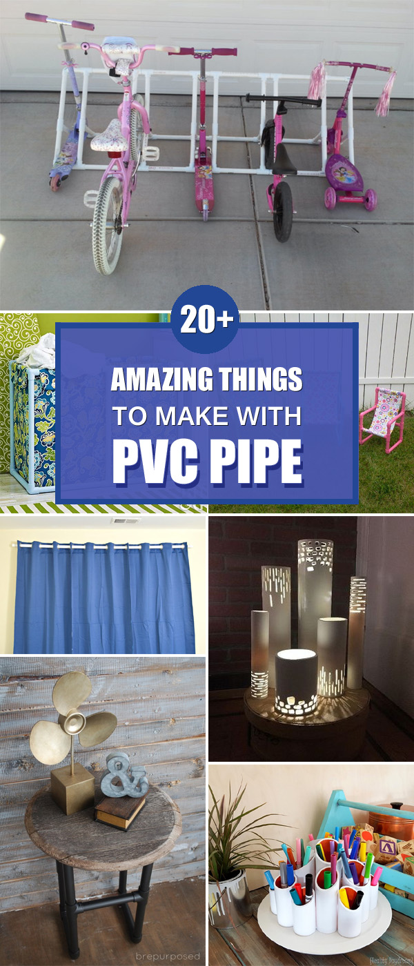 20+ Amazing Things to Make With PVC Pipe