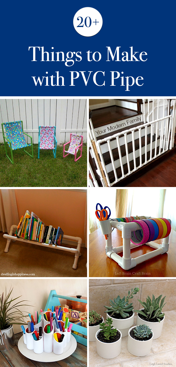 20+ Cool Things to Make With PVC Pipe
