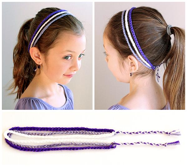 3 Strand Crochet Headband