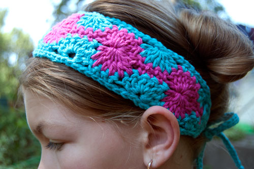 Catherine Crochet Headband
