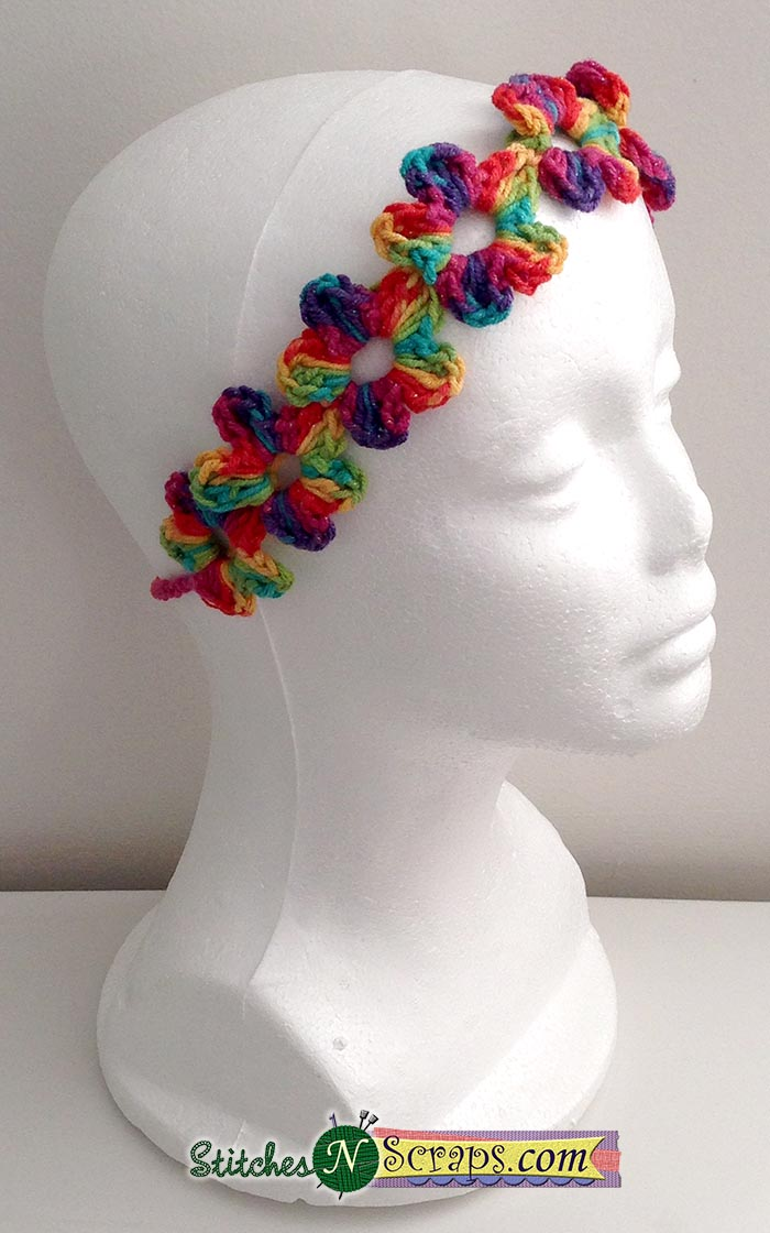 Chain of Flowers Headband