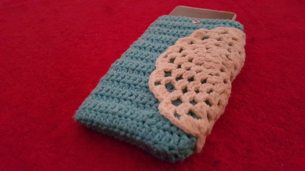 Crochet Vintage Doily Phone Case