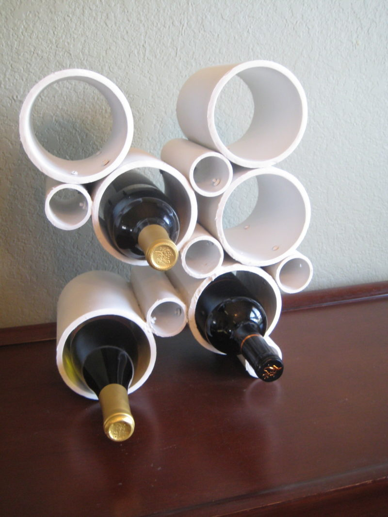 Modern Wine Bottle Holder