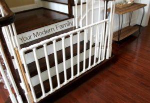 PVC Stair Gate