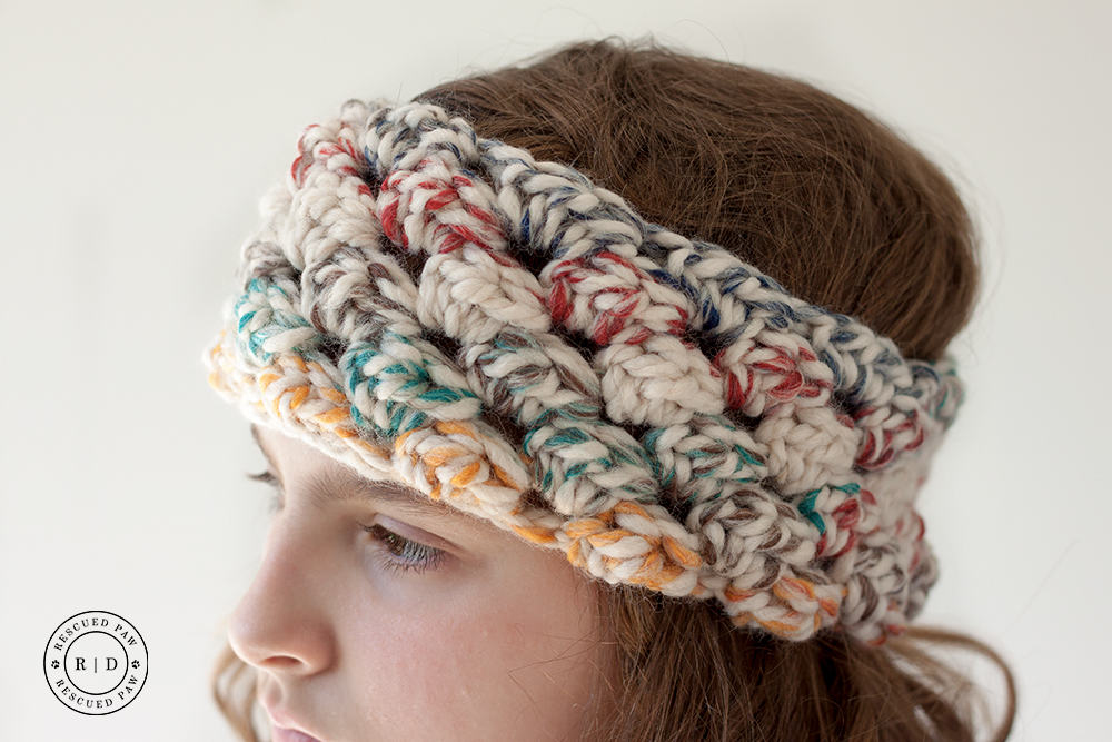 Puffed Crochet Headband Pattern