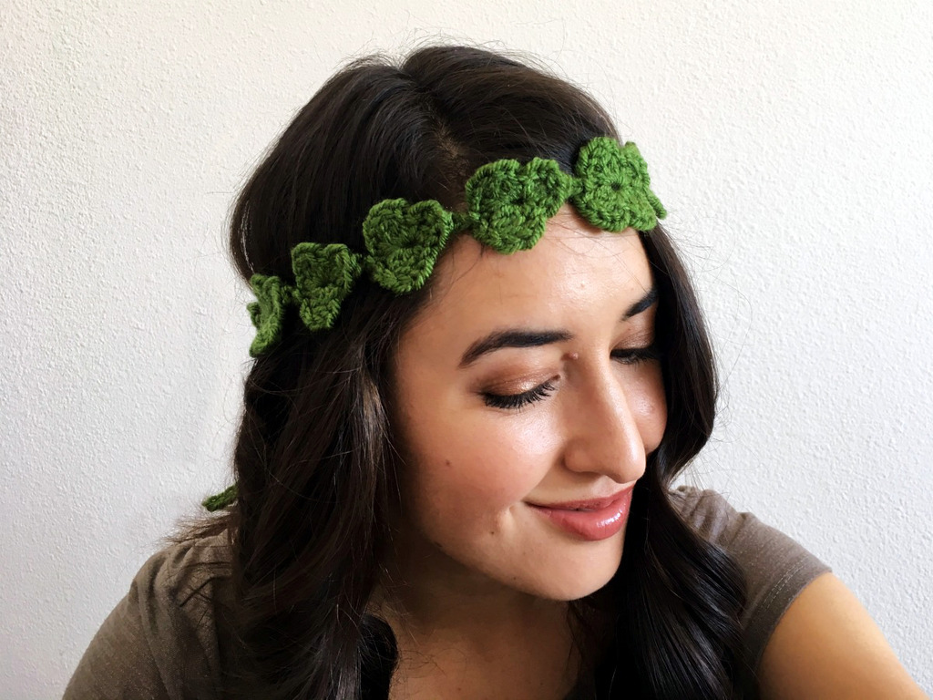 Shamrock Flower Crown