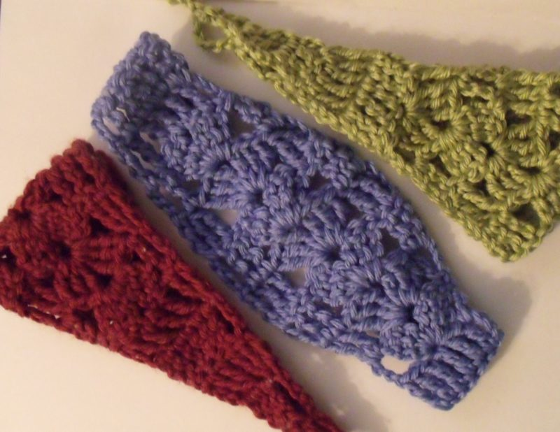 Shell Headband Pattern