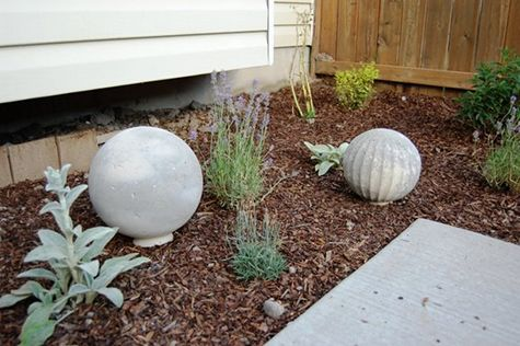 Decorative Concrete Garden Balls
