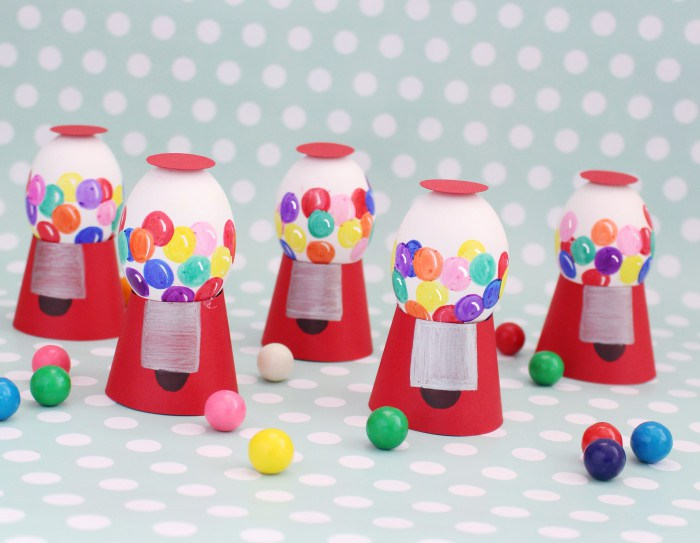 Gumball Machine Easter Eggs