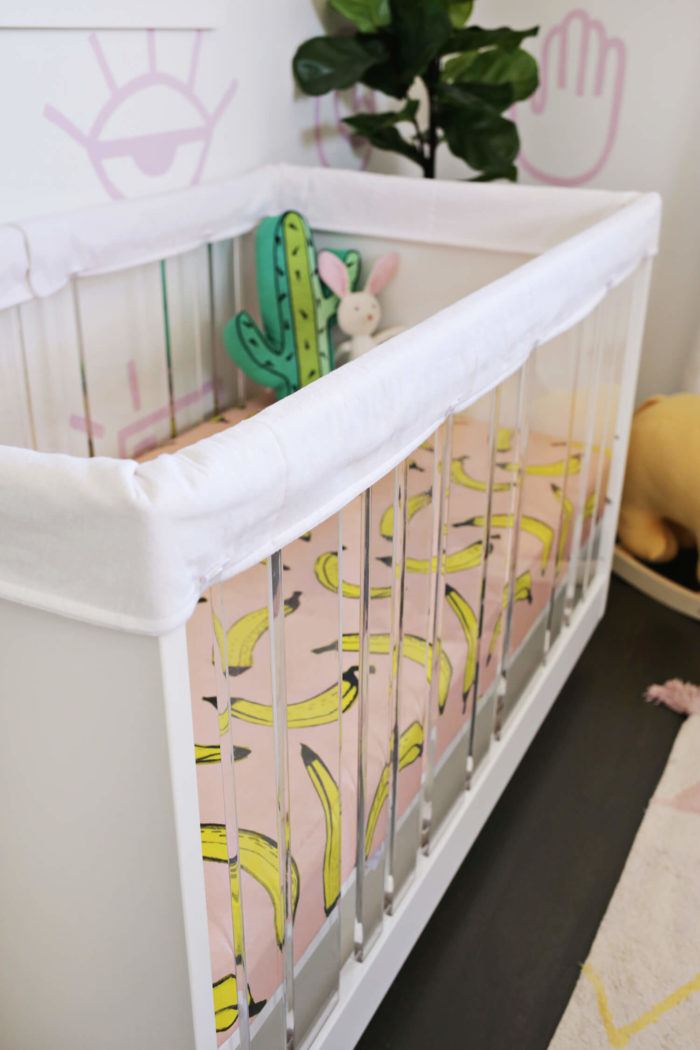Padded Crib Rail Cover