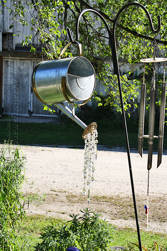 Watering Can That Pours Crystals