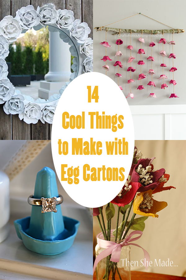 14 Cool Things to Make with Egg Cartons