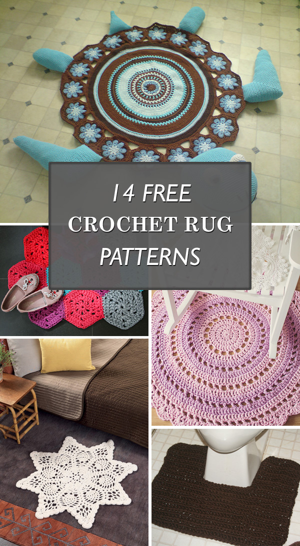 14 Free Crochet Rug Patterns to Spruce Up Your Space