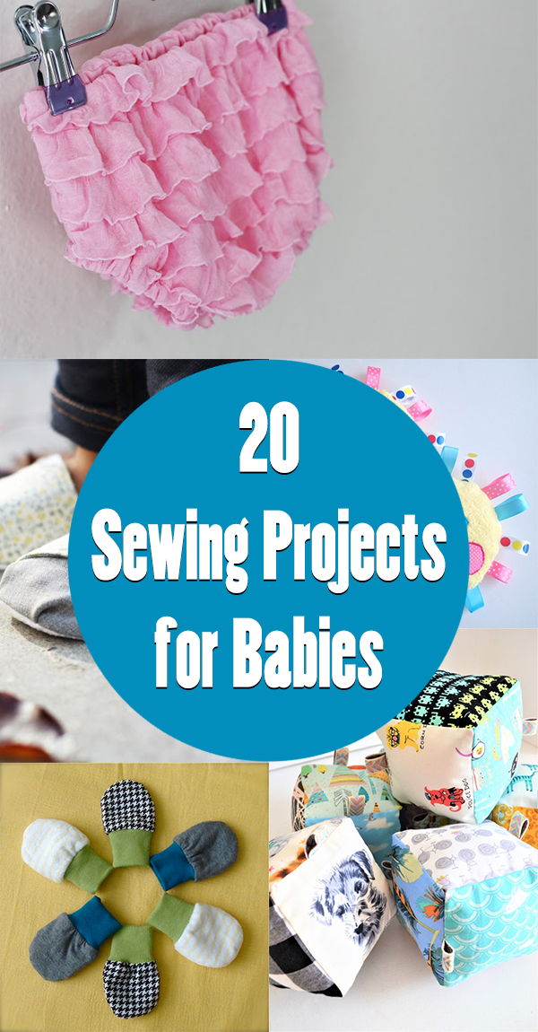 20 Cute and Easy Sewing Projects for Babies