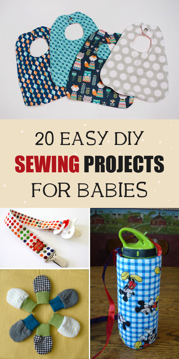 20 Easy DIY Sewing Projects for Babies