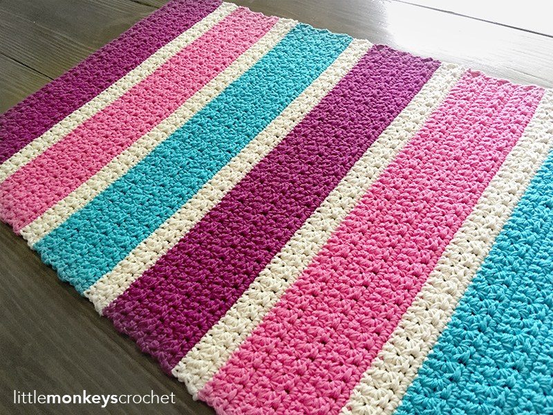 Bubble Gum Bright Accent Rug