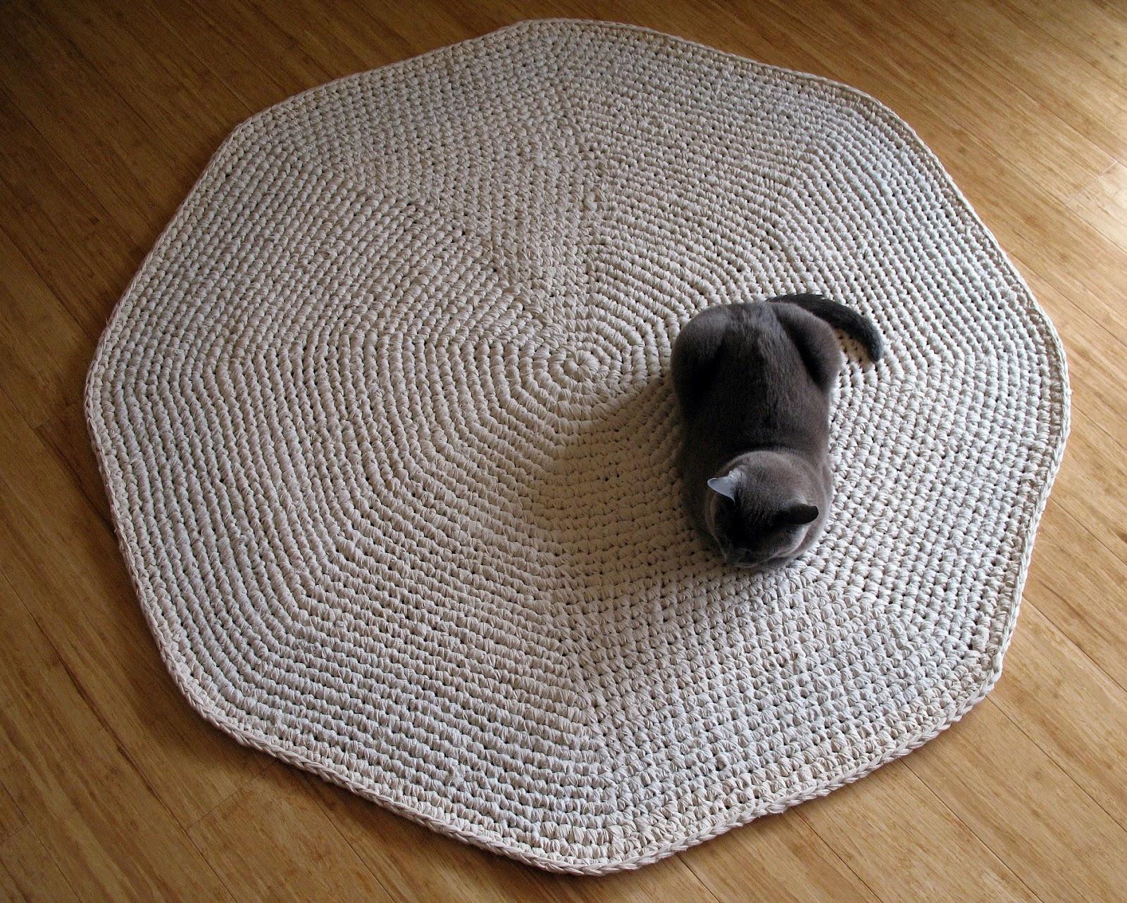 Calico Crochet Rug