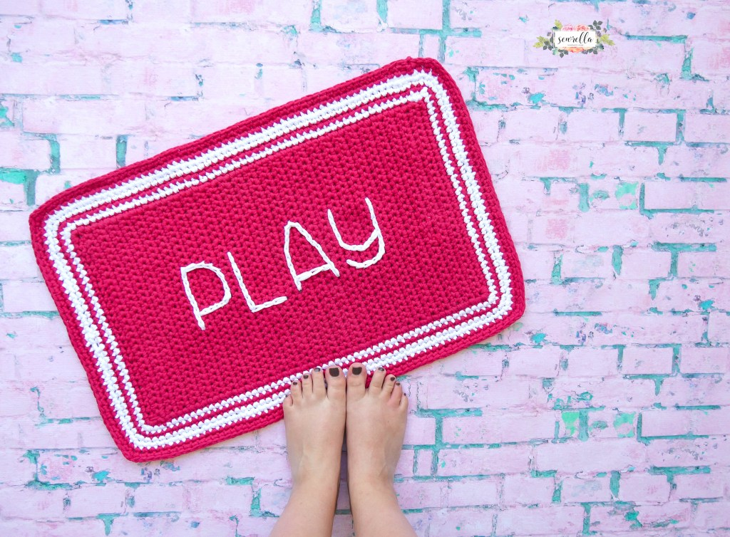 Crochet Outdoor Rug