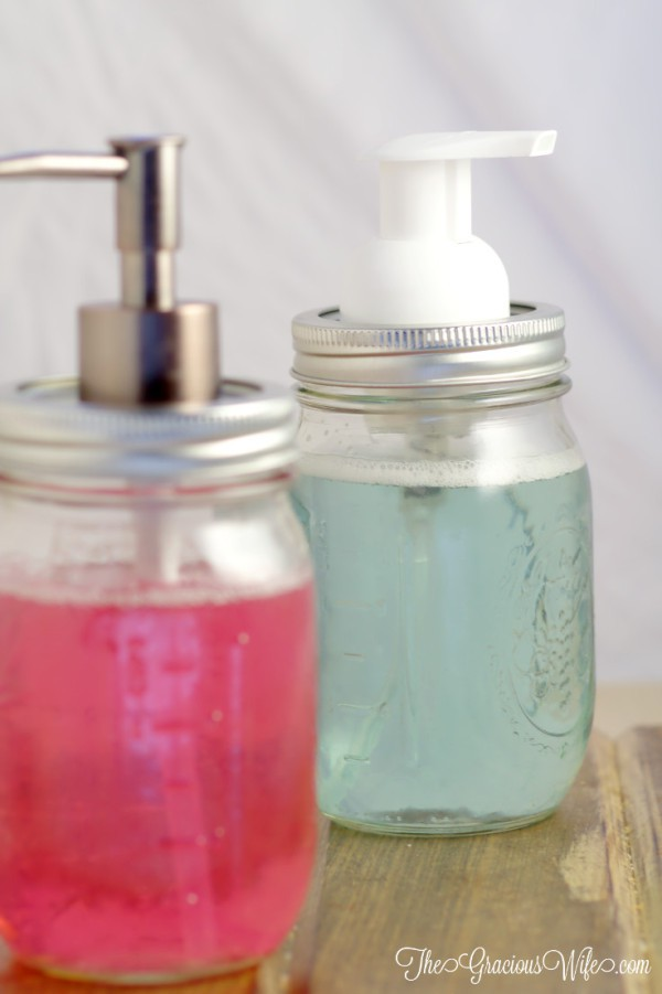 Mason Jar Soap Pumps