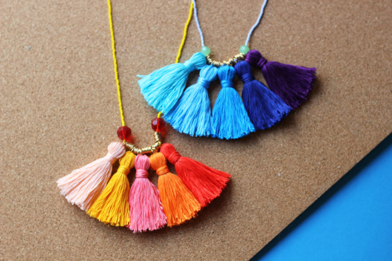 Ombre Tassel Necklace