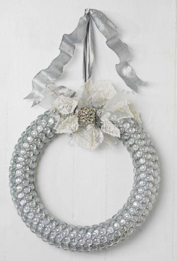 Sparkly Winter Wreath