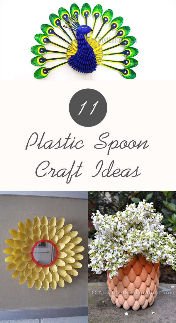 11 Plastic Spoon Craft Ideas You Will Love