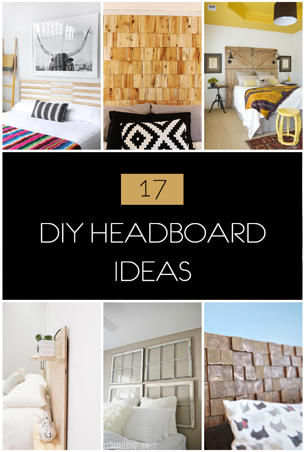 17 DIY Headboard Ideas