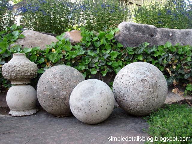 Concrete Garden Balls