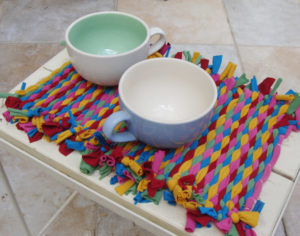 Create Colorful Woven Placemats